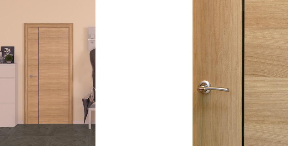 Производство мебели двери с натурального шпона